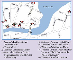 What's to see in Seneca Falls, NY